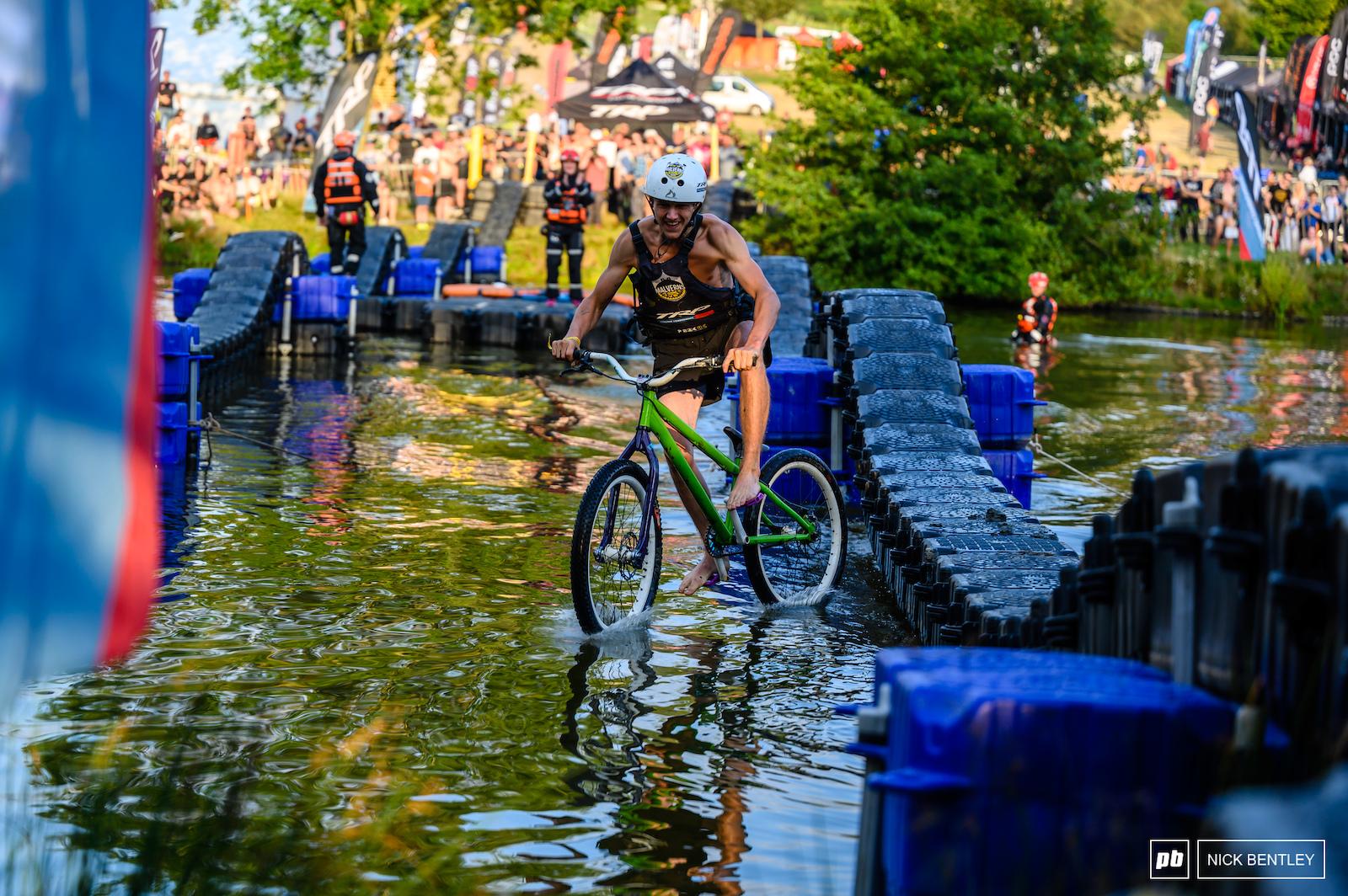 Malverns Lake Ride Riding on Water163118
