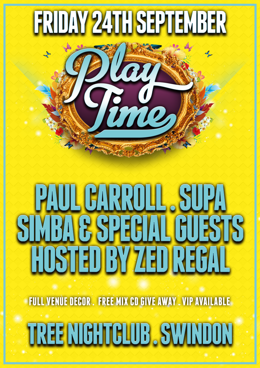 Play Time - A3 Poster (September 2021)16