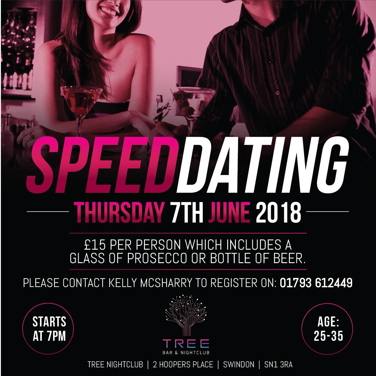 Speed dating events swindon